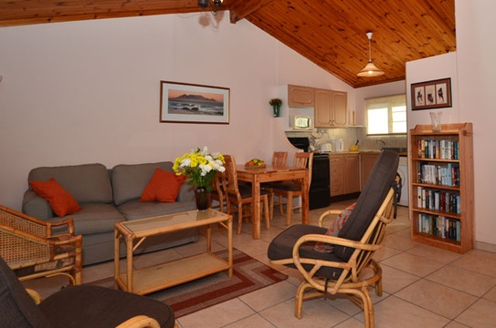 Lounge Area of Cottage 39 - Seaside Cottages Fish Hoek