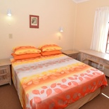 Main bedroom of cottage 78 - Seaside Cottages Fish Hoek