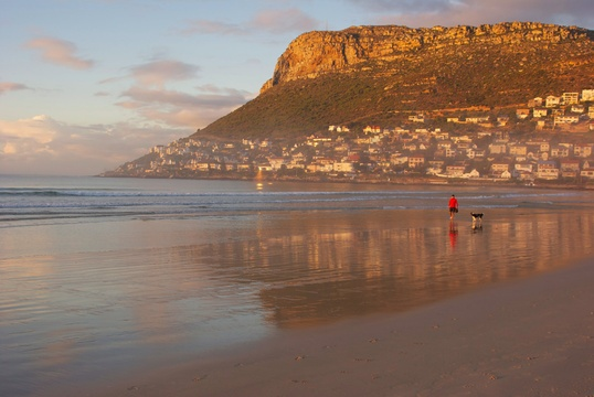 Early Morning Walk on Fish Hoek Beach