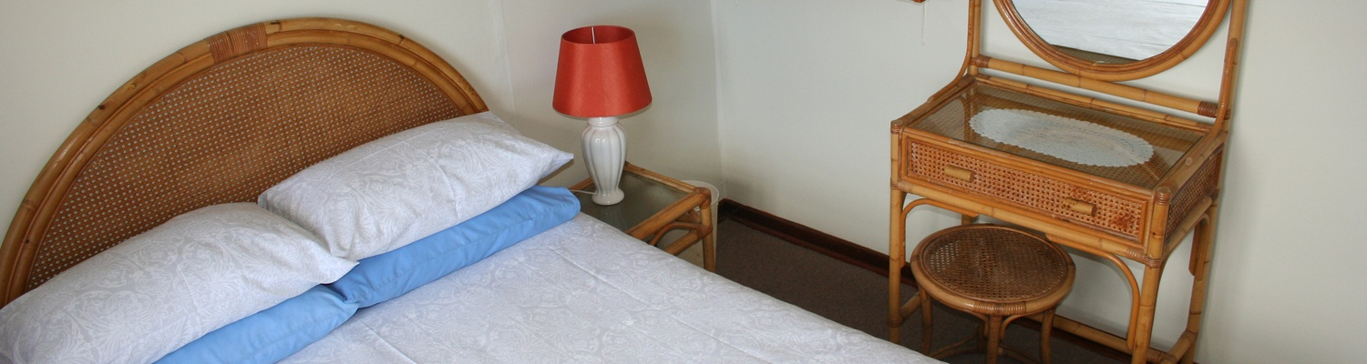 Main bedroom of Cottage 53, Seaside Cottages Fish Hoek