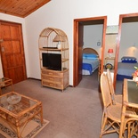 Lounge area of cottage 53, Seaside Cottages Fish Hoek, self catering accommodation