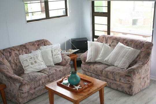 Lounge area at Cottage 19 - Seaside Cottages Fish Hoek