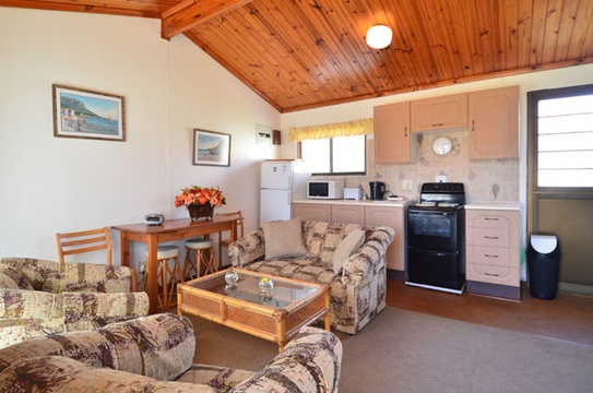 Lounge Area of Cottage 22 - Seaside Cottages Fish Hoek