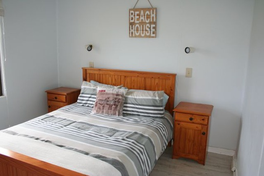 Main Bedroom of Cottage 19, Double - Seaside Cottages Fish Hoek