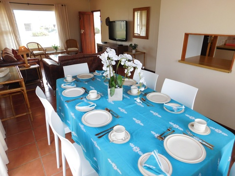 Dining area of Cottage 66  - Seaside Cottages Fish Hoek