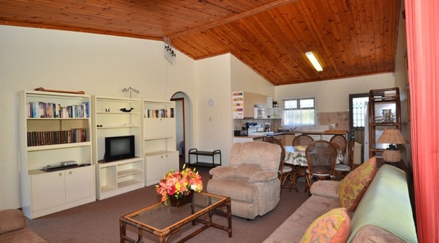 Lounge area of cottage 72 - Seaside Cottages Fish Hoek