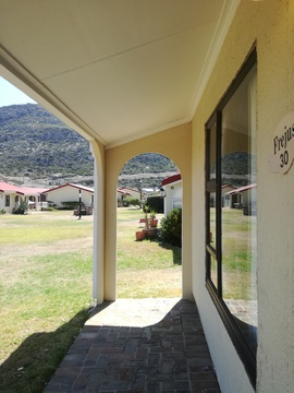 Mountain view from Cottage 30 - Seaside Cottages Fish Hoek