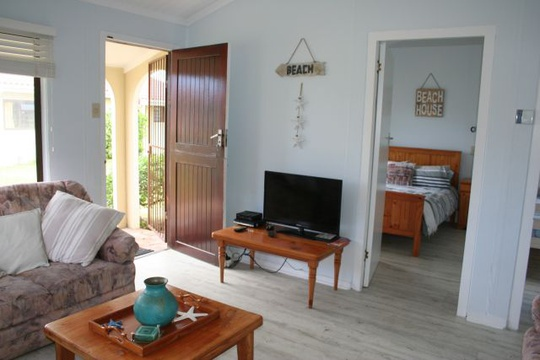 Television at Cottage 19 - Seaside Cottages Fish Hoek