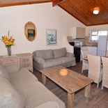 Cottage 78 Lounge and Dinning Area - Seaside Cottages Fish Hoek