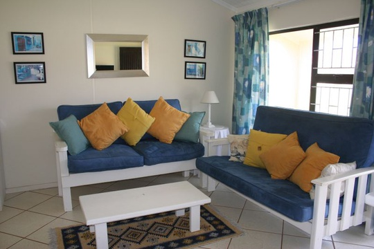 Lounge Area of Cottage 18 - Seaside Cottages Fish Hoek