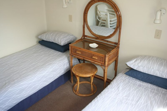 Second Bedroom of Cottage 53 at Seaside Cottages Fish Hoek