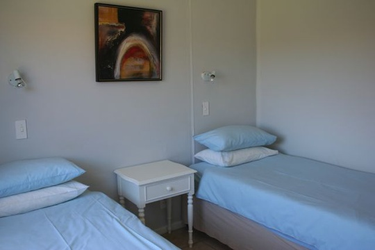 Second Bedroom (twin Beds) of Cottage 36 at Seaside Cottages Fish Hoek