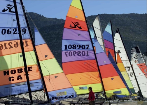 Sailing in Fish Hoek