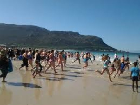 The big splash  - Fish Hoek Spring Splash 2016