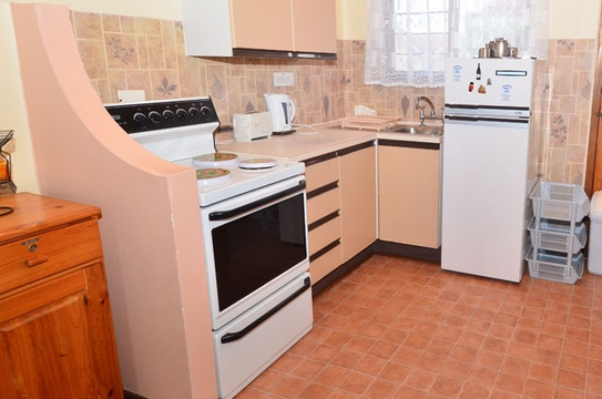 Kitchen Area of Cottage 30 - Seaside Cottages Fish Hoek