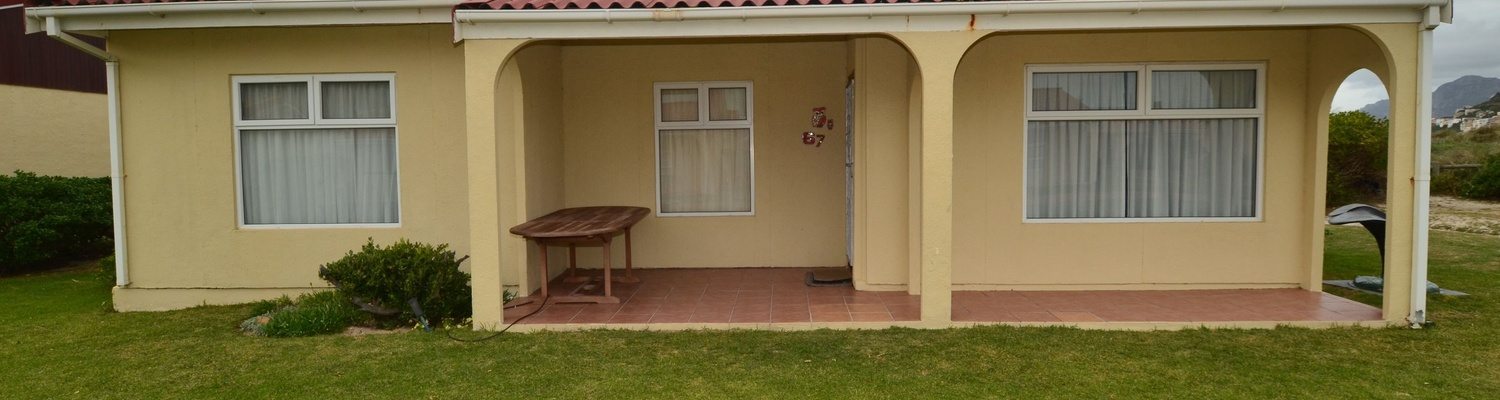Outside View of cottage 67 Seaside Cottages Fish Hoek,Large 3 Bedroom Cottage,Fish Hoek Chalets,things to do in fish hoek