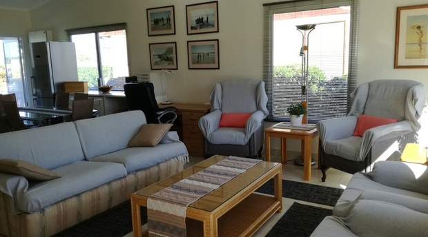 Lounge Area of Cottage 64  - Seaside Cottages Fish Hoek