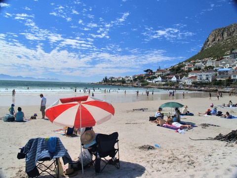 Relax on Fish Hoek Beach