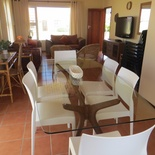 Dinning and Lounge Area of Cottage 66 - Seaside Cottages Fish Hoek