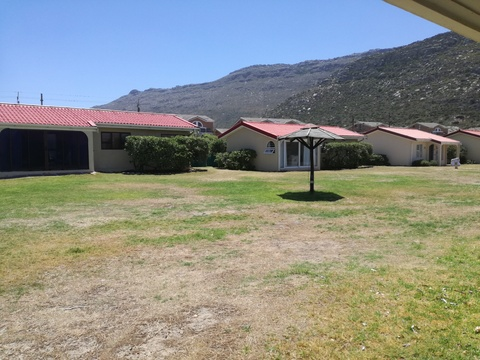 Outside View from cottage 29 - Seaside Cottages Fish Hoek