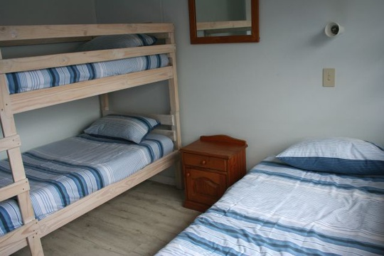 Second Bedroom of Cottage 19,Triple - Seaside Cottages Fish Hoek