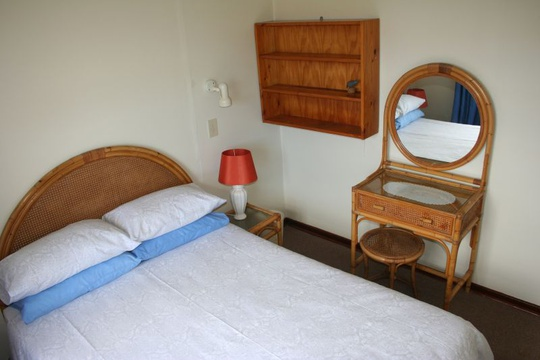 Main Bedroom of Cottage 53 at Seaside Cottages Fish Hoek