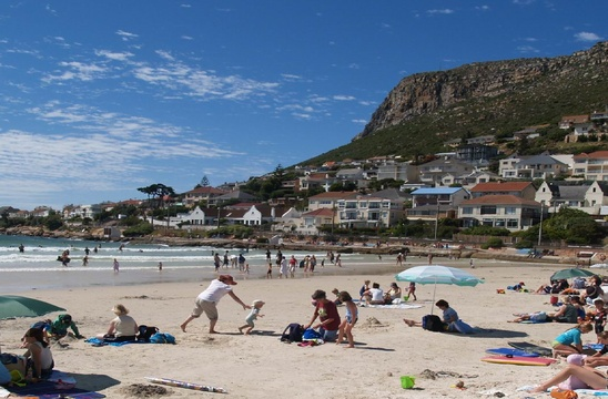 Fun at Fish Hoek Beach