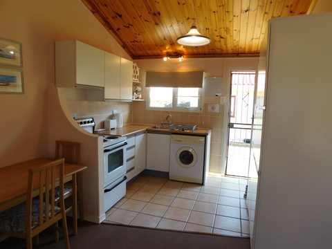 Kitchen Area of Cottage 41 - Seaside Cottages Fish Hoek
