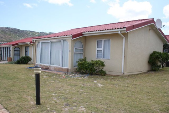 Front view of Cottage 44 - Seaside Cottages Fish Hoek