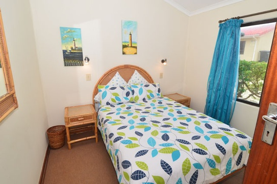 Main bedroom of cottage 57, Seaside Cottages Fish Hoek