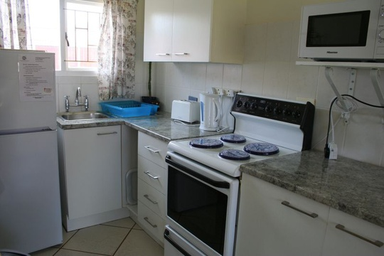 Kitchen Area of Cottage 18 - Seaside Cottages Fish Hoek