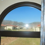 View from Enclosed Veranda of Cottage 43 - Seaside Cottages Fish Hoek
