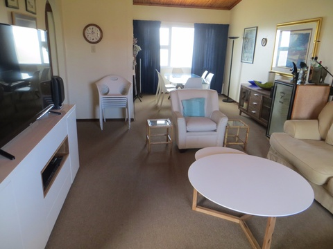 Lounge and Dining Area of Cottage 67 - Seaside Cottages Fish Hoek