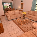 Lounge area of cottage 75 - Seaside Cottages Fish Hoek