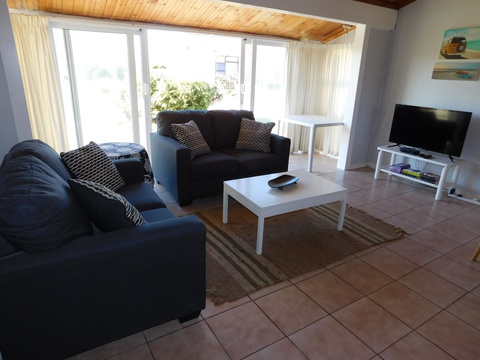 Lounge of Cottage 36 at Seaside Cottages Fish Hoek