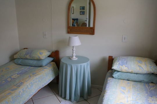 Second Bedroom of Cottage 18 - Seaside Cottages Fish Hoek