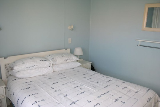 Main bedroom of cottage 18 - Seaside Cottages Fish Hoek
