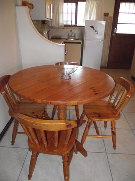 Dining Area of Cottage 50 - Seaside Cottages Fish Hoek