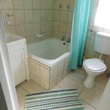 Bathroom area of cottage 51 - Seaside Cottages Fish Hoek