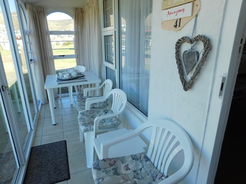 Veranda of Cottage 41 - Seaside Cottages Fish Hoek