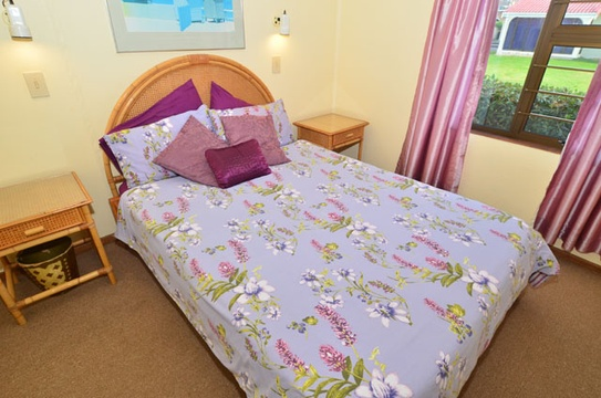 Main Bedroom of Cottage 30 - Seaside Cottages Fish Hoek
