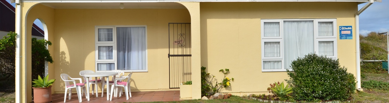 Outside View of cottage 62,Large 2 Bedroom Cottage, Fish Hoek Chalets,things to do in fish hoek