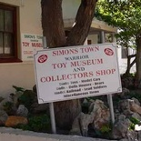 Take a 10 minute drive from Seaside Cottages to Simons Town and explore the Warrior Toy Museum