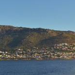Panoramic View Fish Hoek Bay from Clovelly