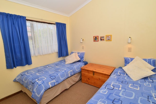 Second Bedroom of Cottage 30 - Seaside Cottages Fish Hoek