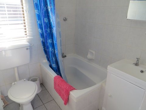 Bathroom at Cottage 19 - Seaside Cottages Fish Hoek