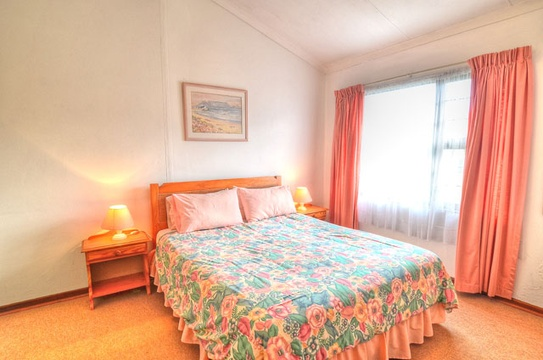 Main Bedroom of Cottage 22 - Seaside Cottages Fish Hoek