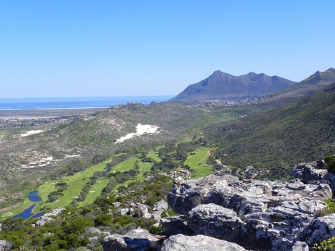 Clovelly Golf Course from Trappies Koppie