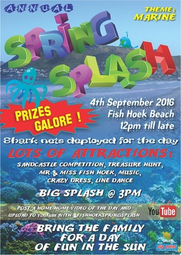 10th Annual Spring Splash Fish Hoek Beach