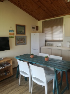 Kitchen and Dining Area of Cottage 24 - Seaside Cottages
